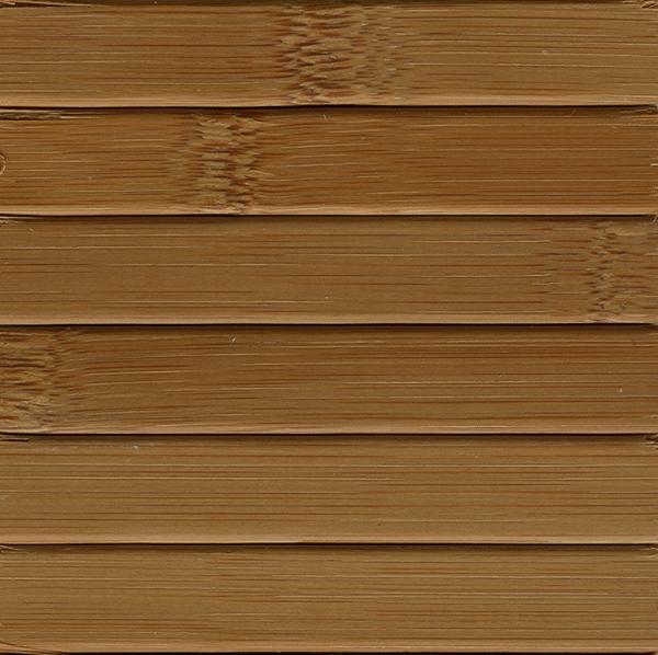 Bambusz 17 mm, barna lakkos
