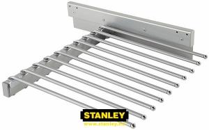 Kihúzható nadrágtartó gardróbszekrénybe - Stanley 9