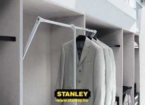 Ruhalift gardróbszekrénybe - Stanley3