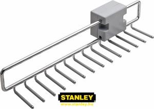 Nyakkendőtartó gardróbszekrénybe - Stanley 14