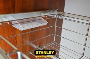 Drótkosár gardróbszekrénybe - Stanley23