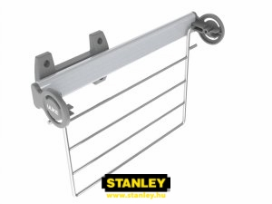 Lehajtható nadrágtartó gardróbszekrénybe - Stanley 4.