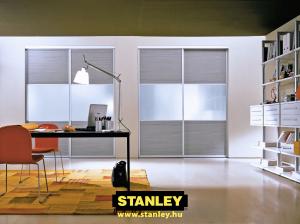 3.) Osztott Stanley tolóajtó