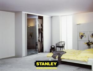 Gardróbszekrény Stanley füsttükör tolóajtóval 7