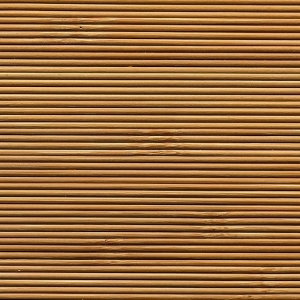 Bambusz 7/4, mikrobordás, barna lakkos