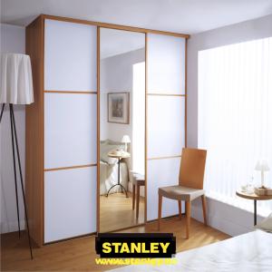 Cseresznye Klasszikus keretes beépített szekrény 2.