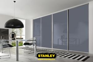 Tolóajtó színes üveggel -  Stanley