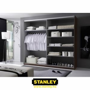 Beépített szekrény belső kialakítása - Stanley