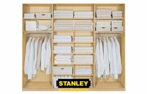 Beépített szekrény belső kialakítása - Stanley 4