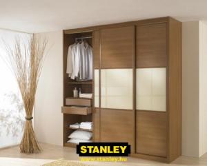 Tolóajtós szekrény belső elrendezés - Stanley 6