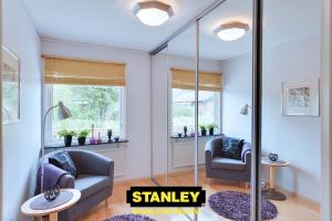 Gardróbszekrény Stanley tükör tolóajtóval 12