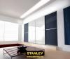 Tolóajtós szekrény szines üveges Minimalist tolóajtókkal - Stanley