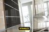 Gardróbszekrény szines üveges Minimalist tolóajtókkal - Stanley 2