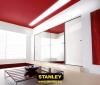 Gardróbszekrény tükrös és üveges Minimalist tolóajtóval - Stanley