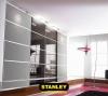 Gardróbszekrény szines üveges Minimalist tolóajtókkal - Stanley