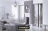 Tükrös szekrény, Ezüst tükör Stanley tolóajtó 1