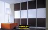 Tolóajtó bútorlap és tejüveg osztással - Stanley tolóajtós szekrény