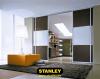 Térelválasztó tolóajtó osztott bútorlappal- Stanley tolóajtós szekrény