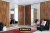 Tolóajtós szekrény fautánzatú AGT magasfényű bútorlappal 3