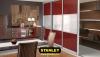 Tolóajtós szekrény AGT magasfényű bútorlappal 12