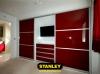 Tolóajtós szekrény AGT magasfényű bútorlappal 11