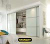Tolóajtós szekrény belső elrendezés - Stanley