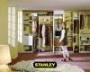 Tolóajtós szekrény belső kialakítás 6