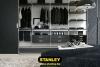 Tolóajtós szekrény belső elrendezés - Stanley 3