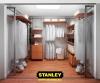 Gardróbszoba kialakítás - Stanley