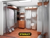 Gardróbszoba belső kialakítása - Stanley