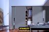 Gardrób beépítés NUD bútorlap tolóajtóval