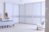 Beépített szekrény színes üveges tolóajtóval - Stanley 13