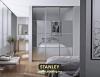 Beépített szekrény savmart ezüst tükörrel - Stanley