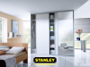 Gardrób ezüst tükör Stanley tolóajtókkal 7