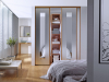 Cseresznye Klasszikus keretes beépített szekrény