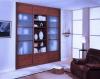 Mahagóni Klasszikus keretes beépített szekrény