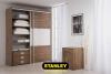 Tolóajtós szekrény belső elrendezés - Stanley 7