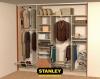 Beépített szekrény belső kialakítása - Stanley 3