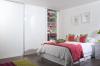 Beépített szekrény, magasfényű bútorlappal